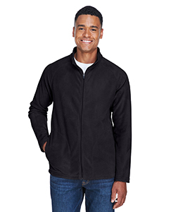 Mens Embroidered Fleece Zip Jacket